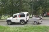 Circo mediático en la cacería especial de jabalí celebrada hoy en Basauri