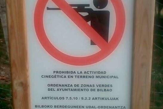El Ayuntamiento de Bilbao dice NO a la caza