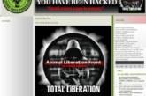 El Frente de Liberación Animal asegura haber hackeado la web de la Federación Vasca de Caza