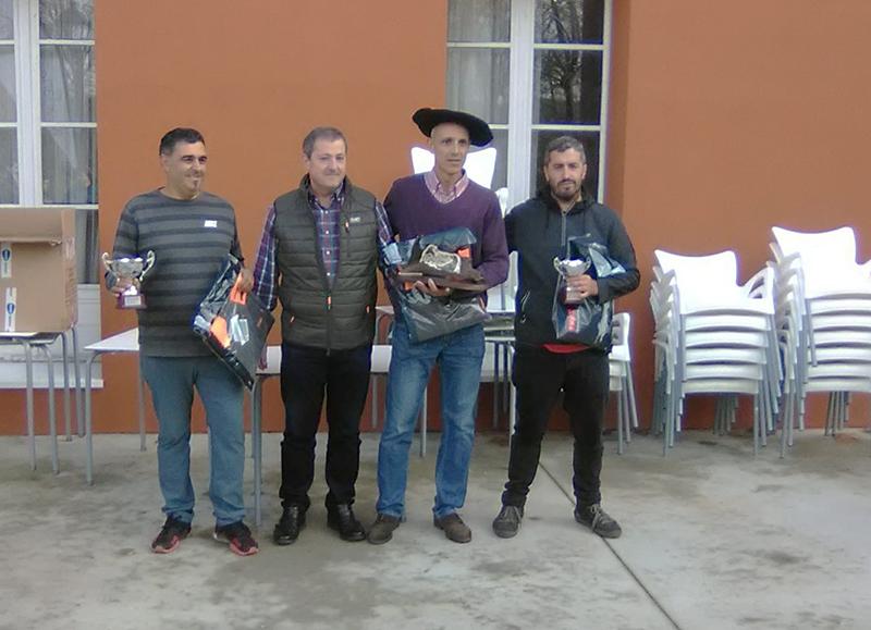 Juan Vicente Landa se hizo con el Campeonato de Euskadi de Becadas en Kuartango
