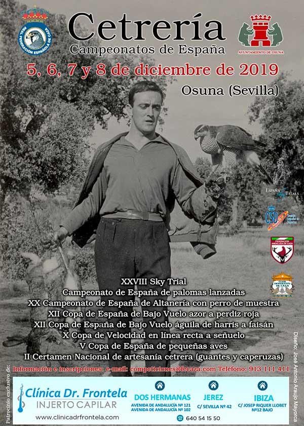 Se abre el periodo de inscripción para los XXVIII Campeonatos de España de Cetrería