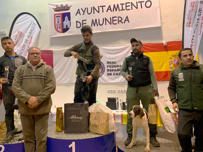 Clasificaciones provisionales de la semifinal Masculina del LI Campeonato de Caza Menor con Perro 201