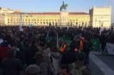 Miles de personas del mundo rural se echan a las calles de Lisboa reclamando respeto a la clase política