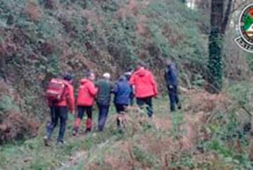 Un cazador localizo ayer a un hombre desaparecido desde el martes en Amorebieta