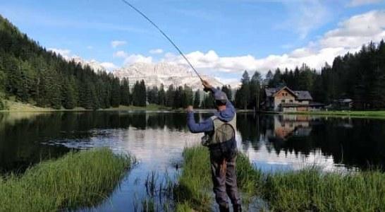 La región de Trentino es un paraíso para la pesca