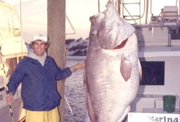 El día que se capturó el record mundial de pez mero