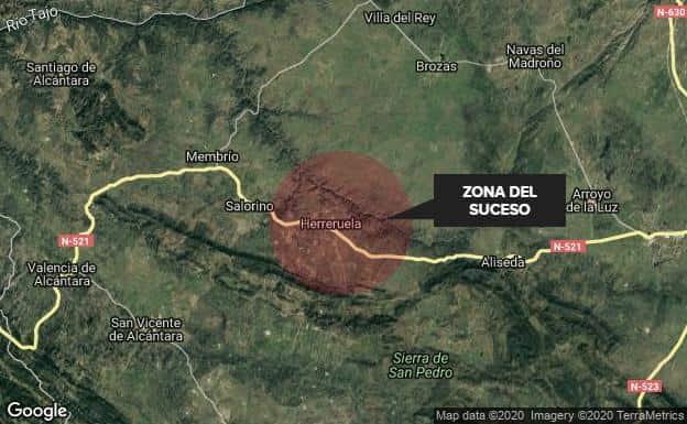 Herido grave por un disparo accidental durante una montería en Extremadura