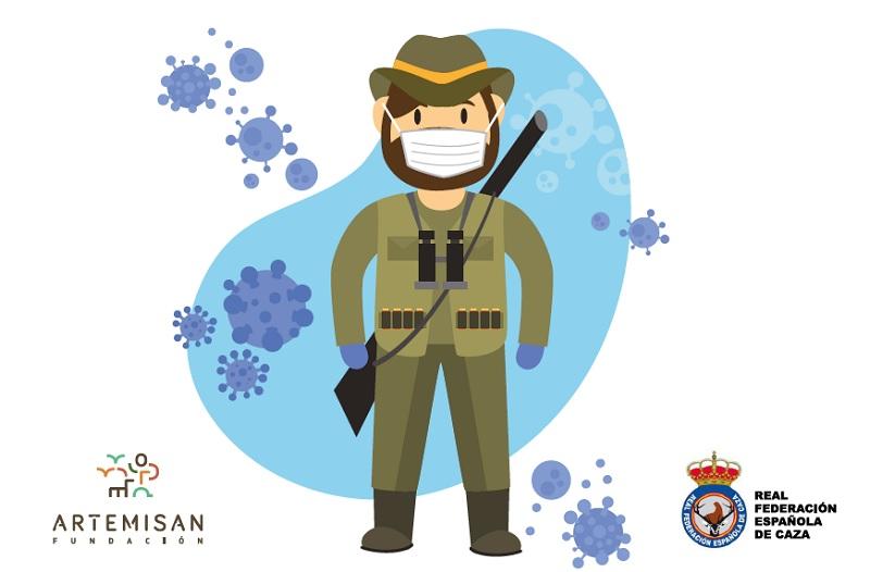 Artemisan y RFEC elaboran una 'Guía de buenas prácticas para el cazador ante la pandemia'