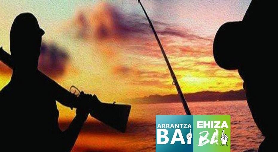 Volveremos a pescar y cazar ¿Y en el Euskadi?