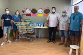 La Sociedad de Cazadores de Pòrtol dona 1.000 raciones de comida para bebés a Creu Roja
