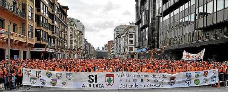 Agravio comparativo de Medio Ambiente contra el sector cinegético en Navarra