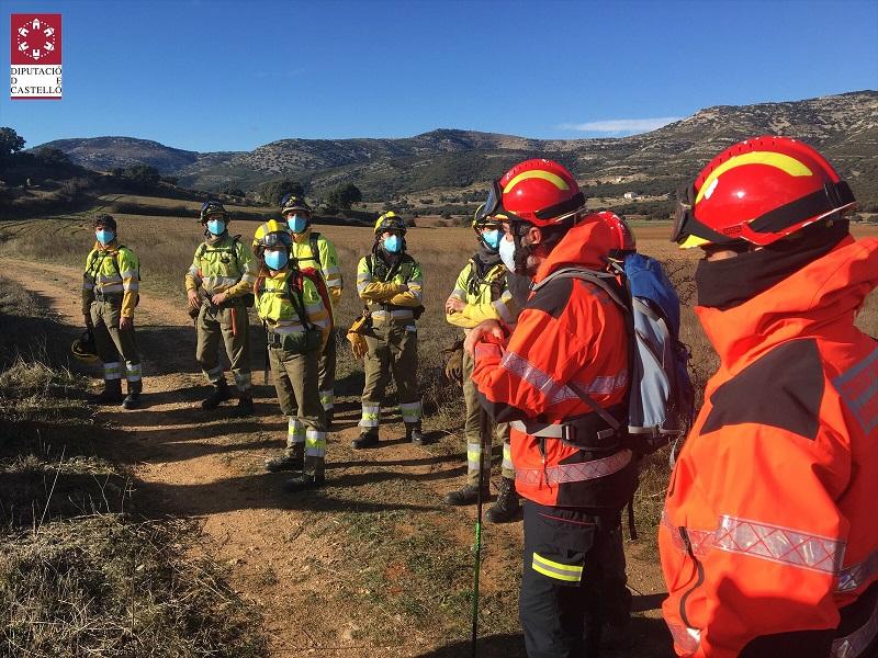 Agónica búsqueda por tierra y aire de un cazador desaparecido desde el domingo en Castellón
