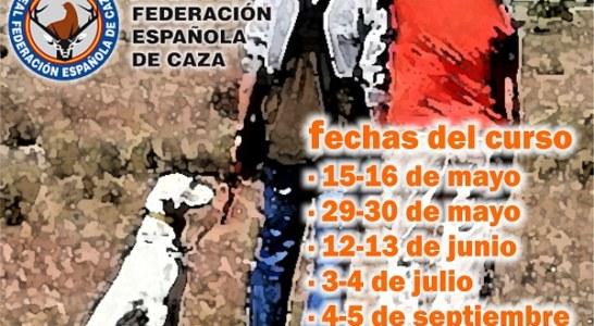 Nuevo 'Curso de Instructor-Adiestrador de Perros de Caza' de la Escuela Española de Caza