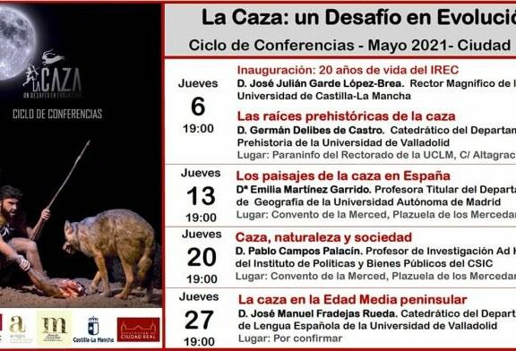 """El IREC inicia un ciclo de conferencias asociadas a la exposición """"La Caza: Un Desafío en Evolución"""""""