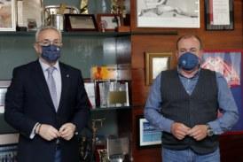 Manuel Gallardo se reúne con el Presidente del COE para potenciar la caza como actividad deportiva