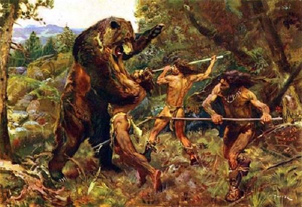La caza en la evolución humana