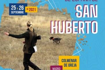El XXXIX Campeonato de España de San Huberto se celebrará en Colmenar de Oreja