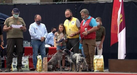 José Luis Llona y Fany se hacen en Toledo con el Campeonato de España de Perros de Muestra
