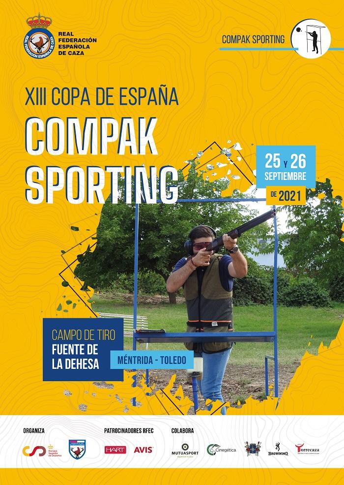 Abierto el plazo de inscripción de la XIII Copa de España de Compak Sporting
